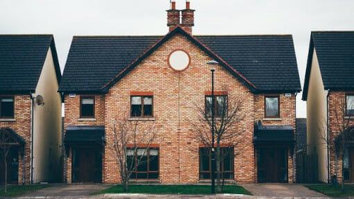 semi-detached new home